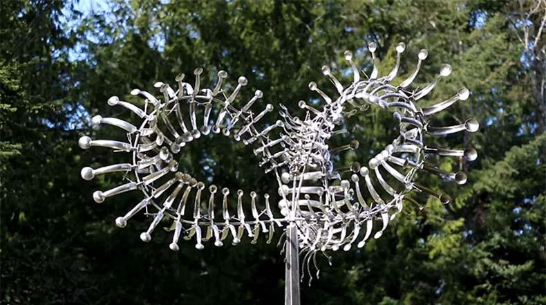 Vertiginosas esculturas cinéticas eólicas por Anthony Howe