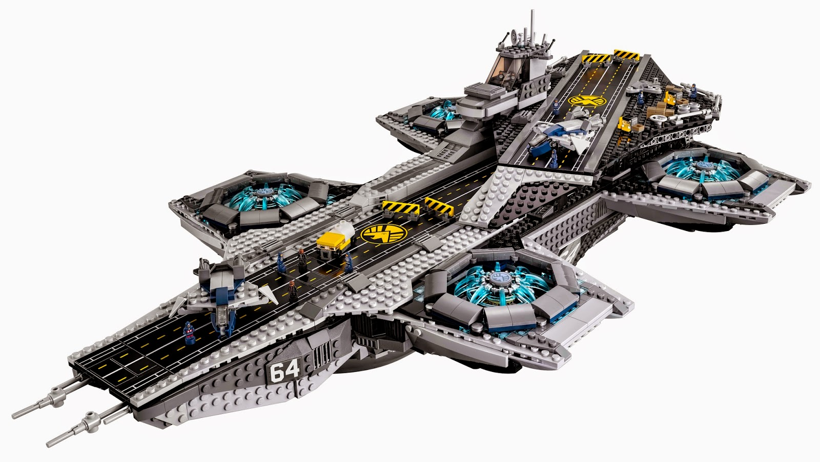 LEGO gosSIP: 300115 LEGO 76042 The SHIELD Helicarrier more ...