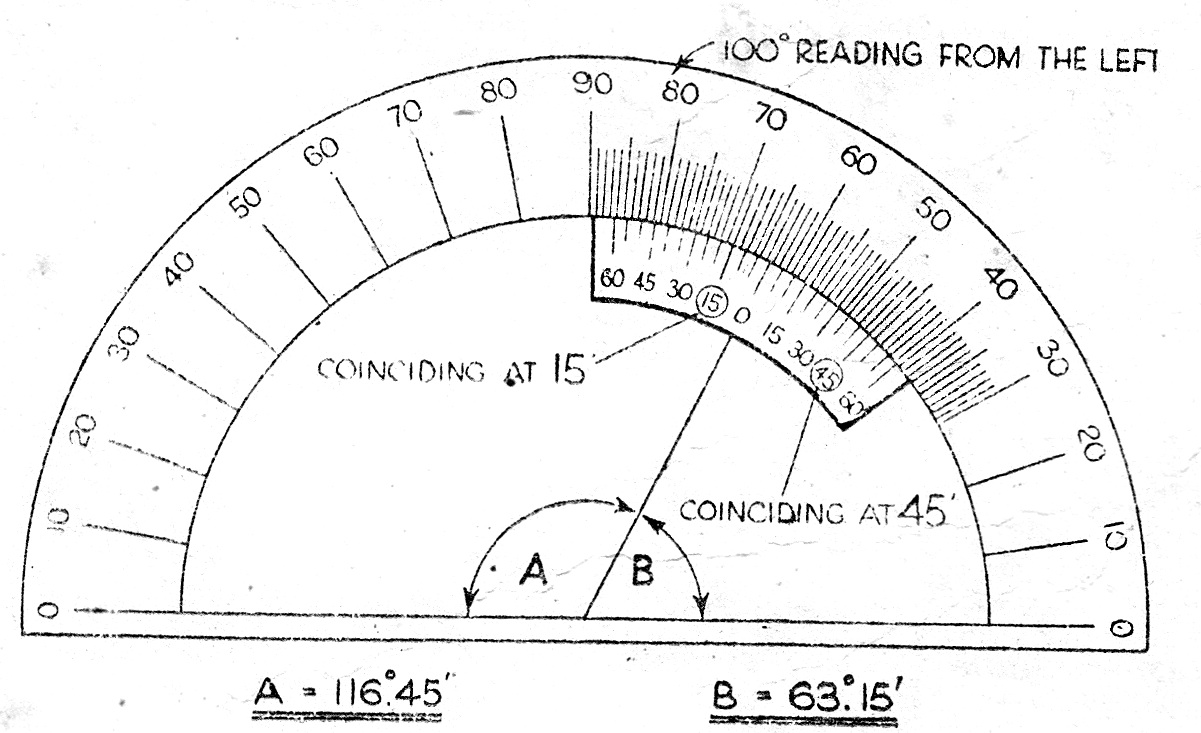 worksheet A Protractor watch more like reading a protractor actual size bevel protractor