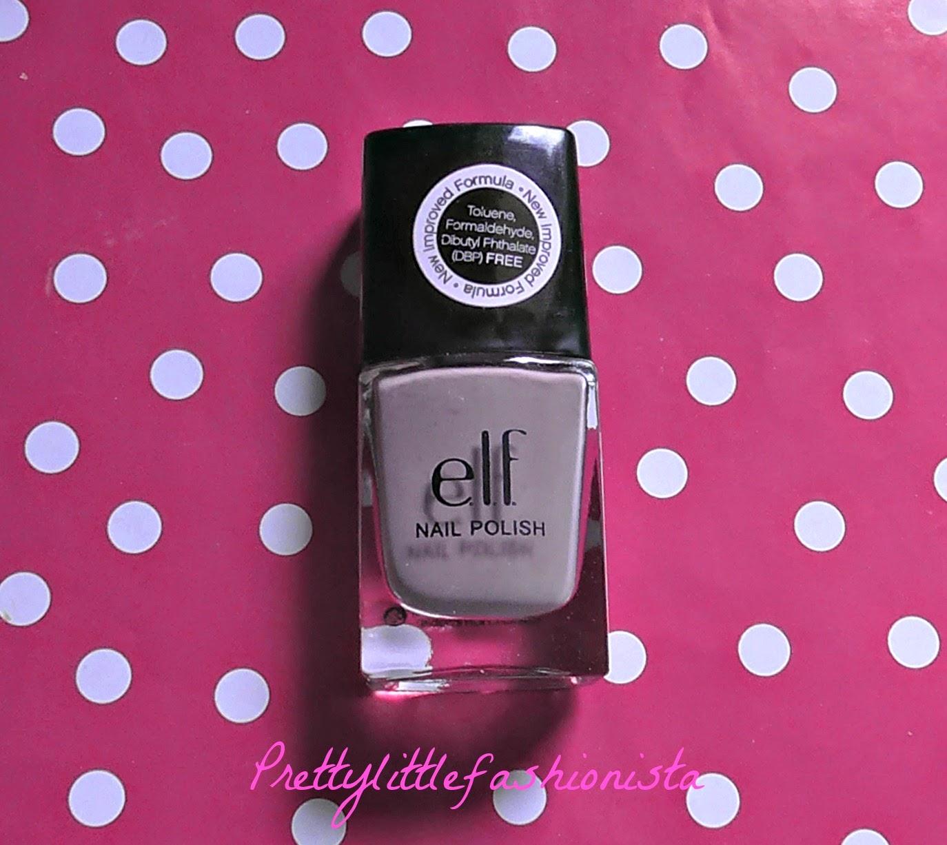 NOTD: ELF Lilac