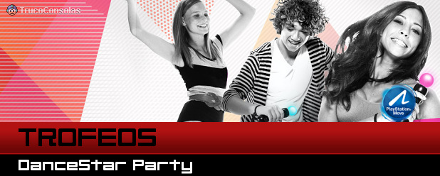 Trofeos Dance Star Party PS3