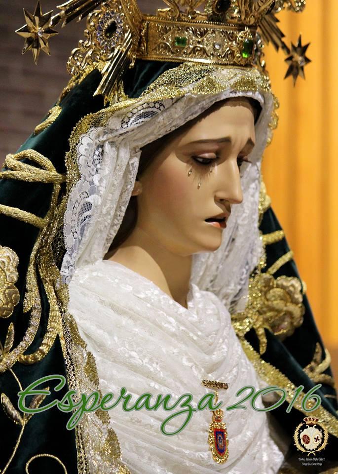 Cartel de la Hermandad de Nuestra Señora de la Esperanza 2016