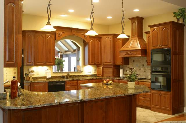 Kitchen Counter Ideas Interesting With Kitchen with Granite Countertops Photo