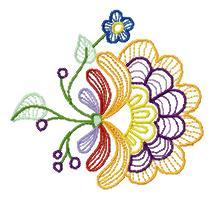 mini haty kwiat