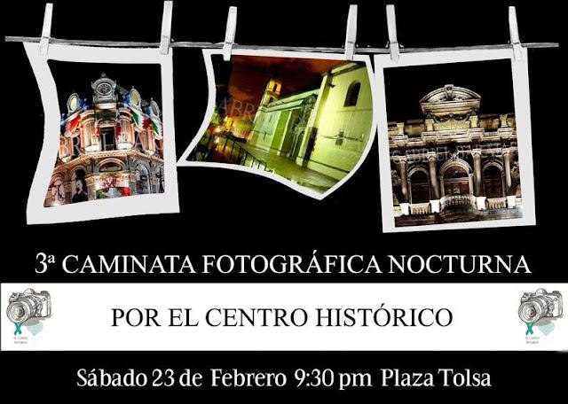 Caminata fotográfica nocturna por el Centro Histórico de la Ciudad de México