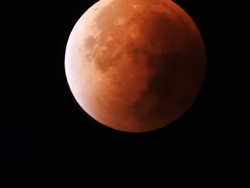 ''Blutmond'' am 28.09.2015 um 05:20 Uhr...