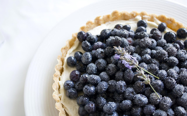 Blue Berry Tart