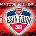 Prediksi Skor Indonesia vs Arsenal 14 Juli 2013