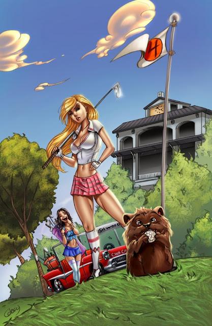 Comic Illustrations by Corey Knaebel