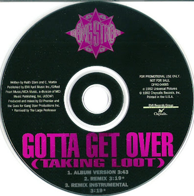 Gang Starr‎ – Gotta Get Over (Taking Loot) (CDS) (1992) (320 kbps)