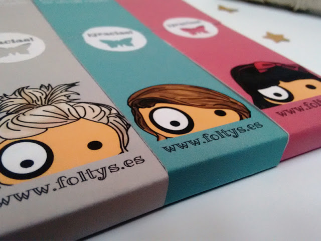 packaging libretas ilustradas foltys | foltys illustrated notebooks packaging (100% handmade with love)