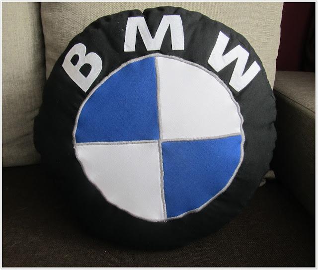 Poduszka miłośnika BMW