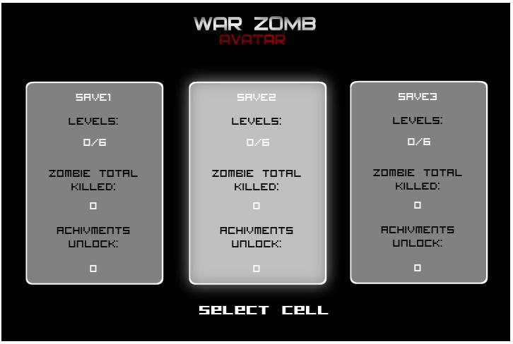 Armor Game : War Zomb - Avatar
