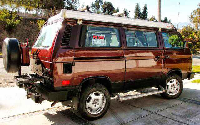 4wd Vw Bus Westfalia For Sale Autos Post
