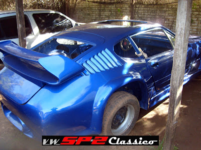 Volkswagen SP2 desfigurado no Paraguai_03