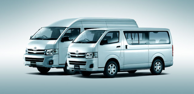 Toyota Hiace, Commuter