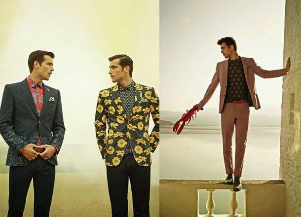 Ted Baker, Spring 2015, spring summer, primavera verano, menswear, moda masculina, Suits and Shirts, lookbook,