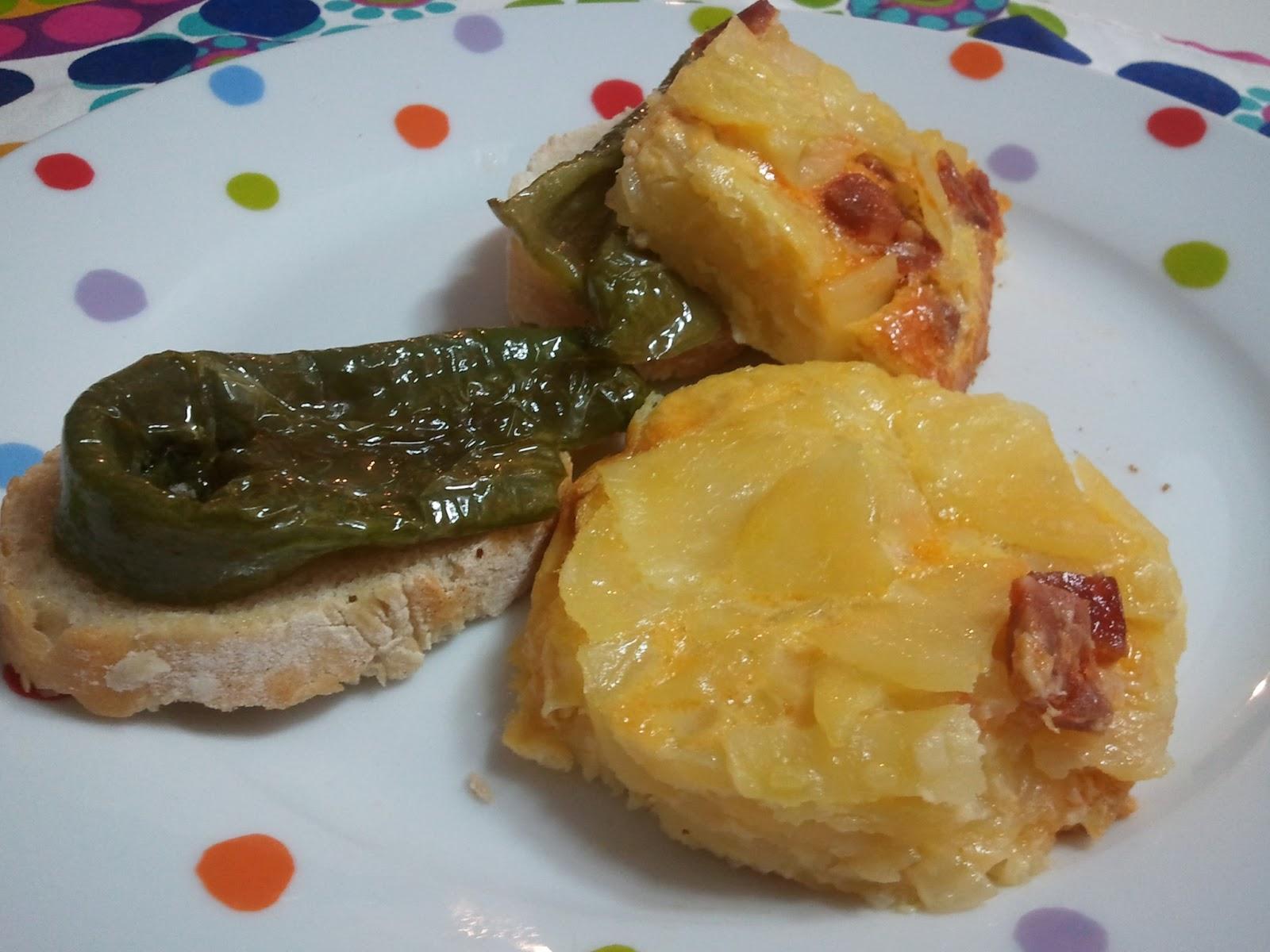 Tortilla de patatas al horno gastronom a de la m a - Patatas pequenas al horno ...