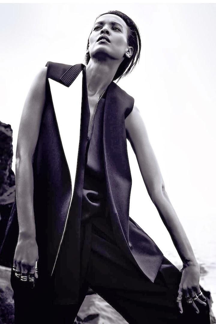 Liya Kebede Harper's Bazaar March 2013