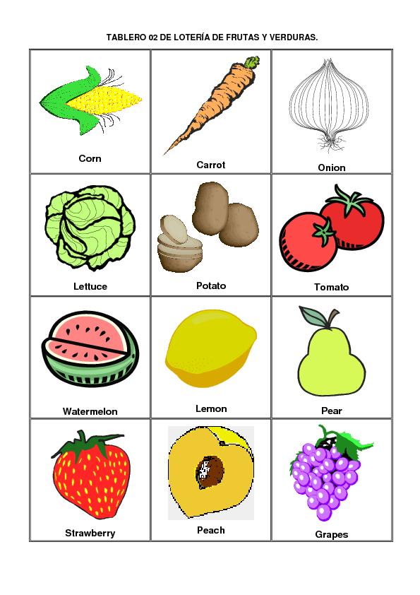 Nombres de frutas y verduras memes - Verduras lista de nombres ...