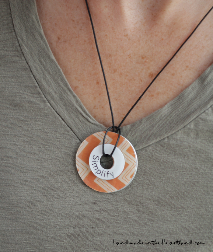 easy diy washer necklaces handmade in the heartland