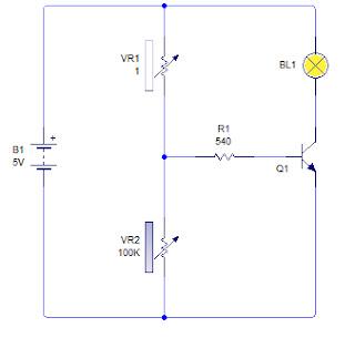 Prinsip Dasar Rangkaian Sensor Rangkaian Sensor dengan Pembagi Tegangan