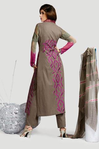 Fashion She9 Latest Winter Collection 2013-14 by Taana Baana