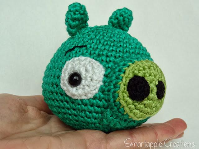 Amigurumi Green Pig : Smartapple Creations - amigurumi and crochet: Green pig ...
