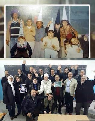 طنجة تخلق الحدث مرة أخرى، تلاميذ عادو لتكريم أستاذهم بعد 30 سنة. نِعم المعلم و المتعلم.