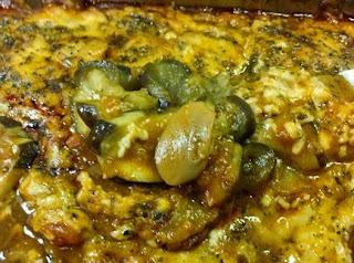 #receita de #berinjela com #molho e #queijo