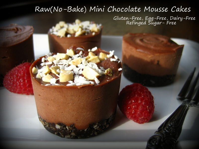 "Home Cooking In Montana: Raw Mini Chocolate Mousse Cakes/""Cheesecakes ..."