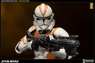 "Sideshow Collectibles 1/6 Scale Star Wars 12"" Clone Trooper 212th Attack Battalion Figure"