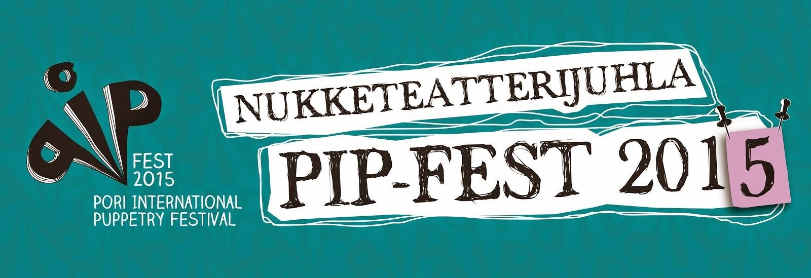 Nukketeatterijuhla PIP-Fest 2015