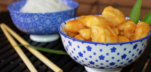 Receta : Pollo a la naranja chino