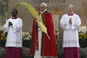 Homilía del Domingo de Ramos 2013. Papa Francisco el papa francisco preside la