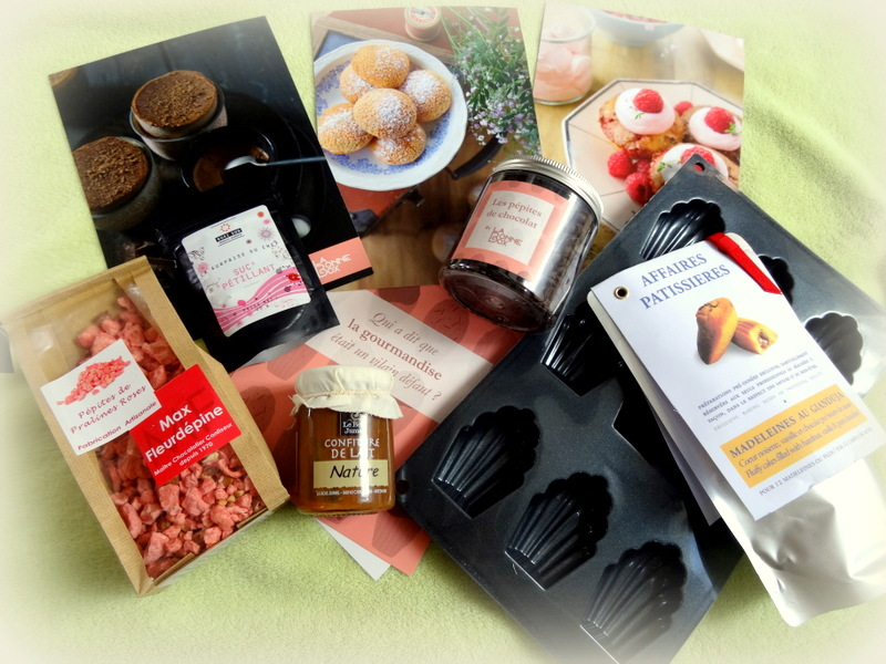 La Bonne Box - Avril 2015 - Gourmandises