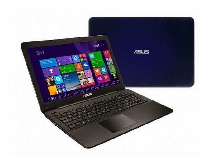 Harga dan Spesifikasi Laptop Asus Notebook A455LN-WX031D
