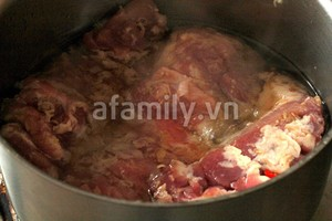 Thịt heo muối sả - cả nhà khen ngon!