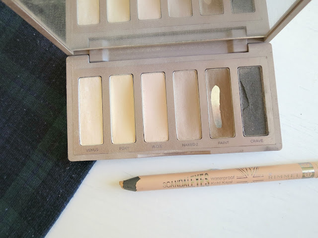 Nude Neutral Makeup Beauty Urban Decay Born Pretty Bobbi Brown Rimmel Eyeshadow Eyeliner Eyes