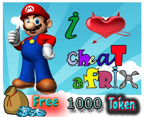 Kontes Cheat-Afrix Free 1000 Token
