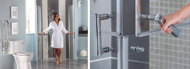 glass shower doors - Practical Bathing