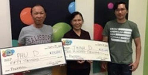 Irmãos apostam em mesmos números e ganham US$ 250 mil