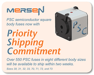 APHaslam supplier of Mersen PSC Fuses