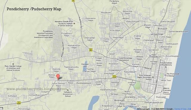 Puducherry Informations - Pondicherry map