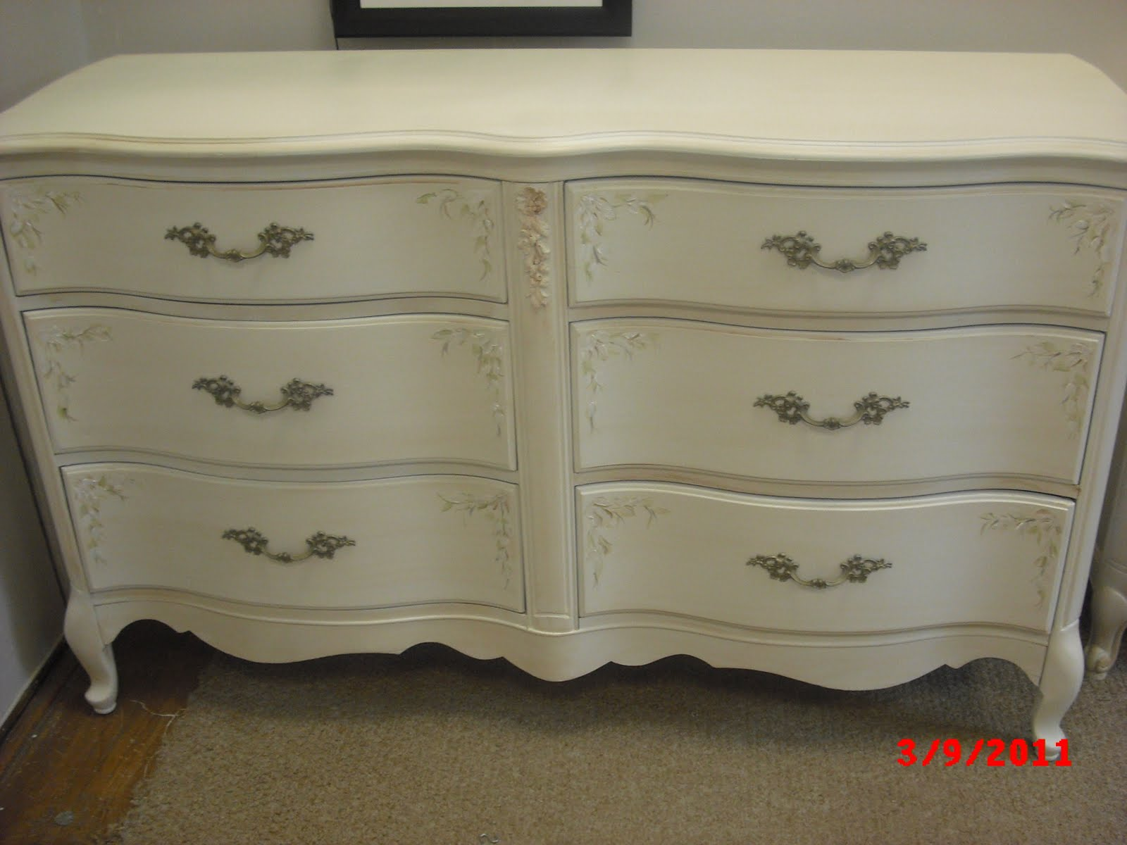 Painted french provincial furniture modern diy art for French provincial bedroom furniture