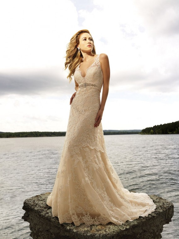Dream wedding place beach wedding dress styles for Lace beach wedding dresses