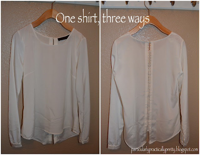 One shirt, three ways