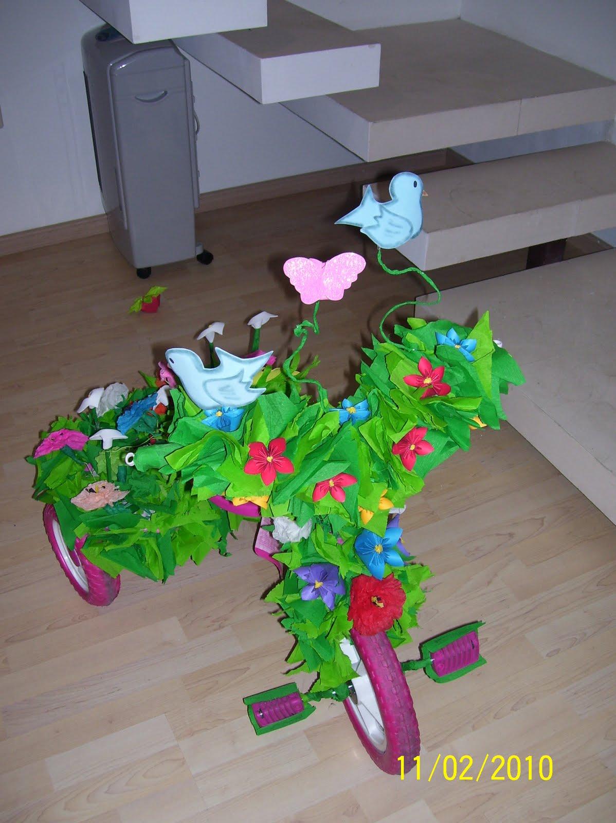 Monys monadas decoraci n de triciclos primavera for Decoracion del hogar en primavera