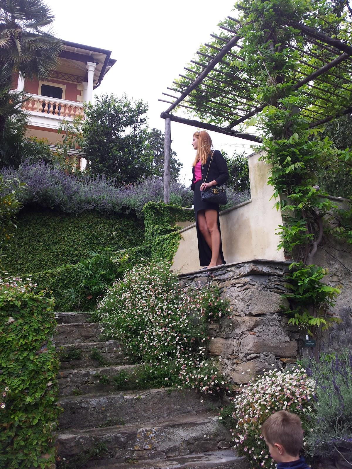 Villa della pergola alassio visite guidate ai giardini for Giardini villa della pergola