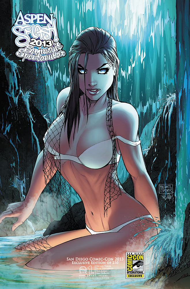 Aspen Comics Reveals Aspen Splash 2013 SDCC Exclusives